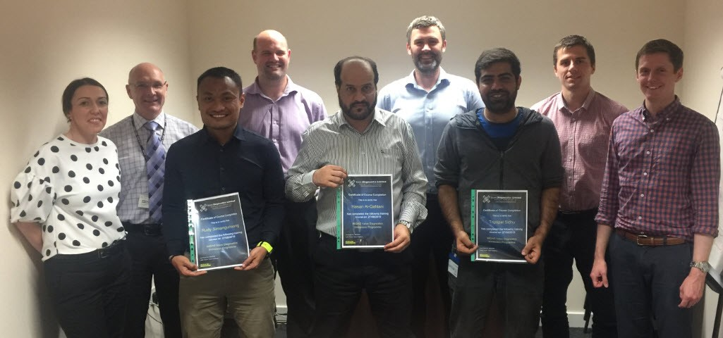 MIDAS Valve Diagnostics Immersion Programme Completion